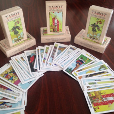 Carti de TAROT editia RIDER_WAITE, Calitate exceptionala la pret de producator - Carte ezoterism
