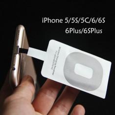 Adaptor incarcator wireless iPhone 5 5S 5C SE 6 6S 6 Plus - Incarcator telefon iPhone, Universal