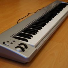 Vand claviatura M-Audio Keystation 88ES usb/midi, nefolosita Altele