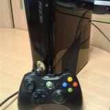 Vand consola Xbox 360 Microsoft slim, 250 gb, ca noua, 1 maneta