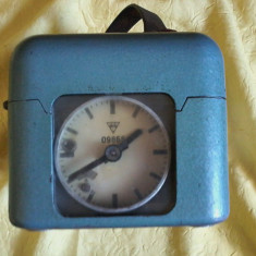 Ceas mecanic constatator curse porumbei marca STB Cehia