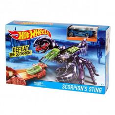 Jucarie Pista Hot Wheels Scorpion Sting Intepatura scorpionului DWK97 Mattel - Masinuta