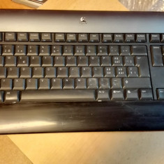 Tastatura Logitech diNovo Bluetooth fara Stick Swiss - Tastatura PC Logitech, Fara fir