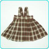 FUSTA CU BRETELE, fir metalic decorativ, lână moale H&M → fete | 2—3 ani | 98 cm
