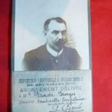 Fotografie - Abonament 10 fr -Legitimatie - Expozitia Universala Bruxelles 1910