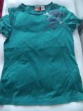 Tricou Puma original, material bumbac, culoare verde,pt.fete-152 h.