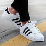 Adidasi adidas Superstar Dama Barbati - Adidasi dama, Culoare: Alb, Marime: 36, 37, 38, 39, 40, 41, 42, 43, 44