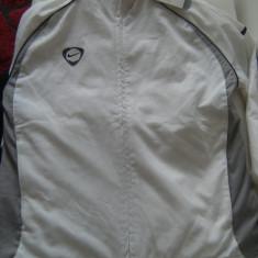 Bluza treinig Nike originala, marimea XS, made in Indonesia, logoul brodat, pt.158 h - Bluza barbati Nike, Culoare: Alb, Poliester