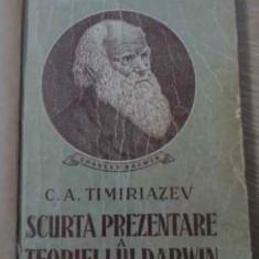 Scurta Prezentare A Teoriei Lui Darwin (pagina De Titlu Lipsa - C.a. Timiriazev, 393684 - Carti Agronomie