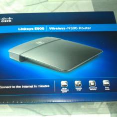Router Linksys E900 - Router wireless Linksys, Porturi LAN: 4
