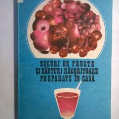 Jean Jurubita – Sucuri de fructe si bauturi racoritoare preparate in casa