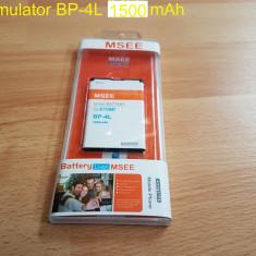 Acumulator BP-4L 1500 mAh, Nokia E71, Li-ion, 3, 7 V