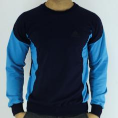 Bluza barbati- bleumarin cu bleu - sport - bluza - slim fit - fashion, Marime: M