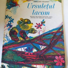 Ursuletul lacom, Emilian Stanev, Ed Ion Creanga 1980 - Carte Epoca de aur