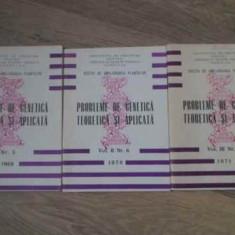 Probleme De Genetica Teoretica Si Aplicata Anii 1969-1971 - Sectia De Ameliorarea Plantelor Fundulea, 393678 - Carti Agronomie