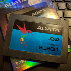 SSD 256GB ADATA SU800 (NOU) testat read/write 560/520MB/s, 3D NAND Flash, SATA 3