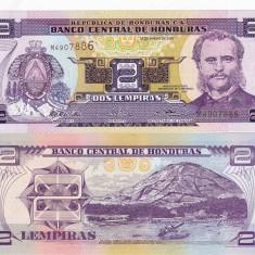 HONDURAS 2 lempiras 2003 UNC!!!