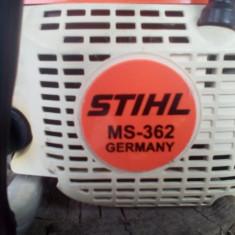 "Motofierastrau "" drujba"" STIHL MS 362 ; kW 4,4/6.0; ABS128; dB 110; 40 cm."
