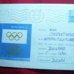 3 Plicuri ilustrate Olimpiada Munchen - Medalii 1972