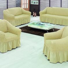 Set huse canapele si fotoliu 3 piese