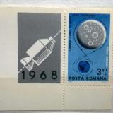 1969 LP 692 COSMOS(I)''APOLLO 8'' - Timbre Romania, Nestampilat