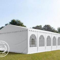 Cort profesional nunti 8x12 m, prelata ignifuga, 2.6 m inaltime laterala