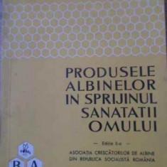 Produsele Albinelor In Sprijinul Omului - Constantin Cristea M. Ialomiteanu, 393641 - Carte Medicina alternativa
