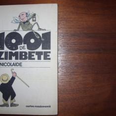 H. NICOLAIDE - 1001 DE ZAMBETE ( carte rara ) *