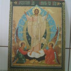 Icoana veche litografie Grecia - Icoana litografiate