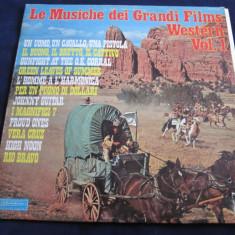 Mario Cavallero - Le Musiche dei Grandi Films Western, vol.1 _ vinyl, LP, Italia - Muzica soundtrack Altele, VINIL