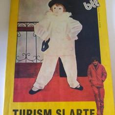 Turism si arte, bbt, Biroul de Turism pentru Tineret 1985, - Carte Epoca de aur