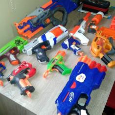 Vand colectie arme NERF (in stare impecabila functional si estetic) - Pistol de jucarie