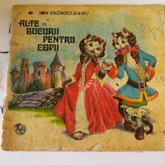 Alte bucurii pentru copii, Ion Cringuleanu, Ed Ion Creanga 1975 - Carte Epoca de aur