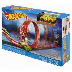 Jucarie Pista Hot Wheels Cobra Coil Incolacirea cobrei DWK95 Mattel - Masinuta