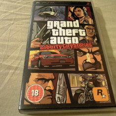 Grand Thef Auto Liberty City Stories, GTA, PSP, original, alte sute de jocuri! - Jocuri PSP Rockstar Games, Actiune, 18+, Single player
