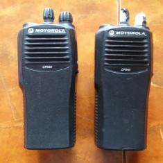 STATIE MOTOROLA CP040 . 2 BUCATI . - Statie radio