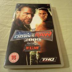 WWE Smack Down vs Raw 2009, PSP, original, alte sute de jocuri! - Jocuri PSP Sega, Sporturi, 3+, Single player