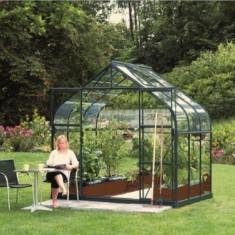 Sera cu structura de aluminiu acoperita su sticla securizata 5, 0m2