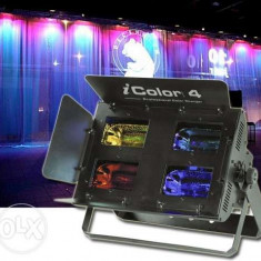 Vand lampa (lumini)-model-IColor4 JB Systems-pentru dj sau formatii. - Efecte lumini club