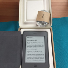 Kindle Touch wi-fi impecabil