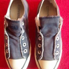 Converse All Star originali, low top, nr.36-22, 5 cm. - Tenisi dama Converse, Culoare: Bleumarin, Textil