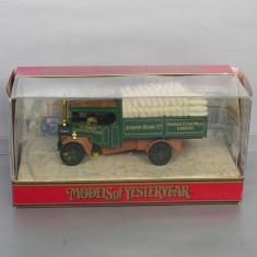 Camion Foden Steam Wagon 1922 Joseph Rank, Matchbox Yesteryear - Macheta auto