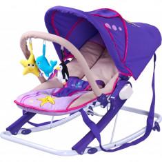 Scaun balansoar pentru bebelusi CARETERO AQUA SBCA-MO - Leagan