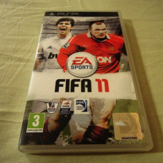 Fifa 11, PSP, original, alte sute de jocuri! - Jocuri PSP Ea Sports, Sporturi, 3+, Single player