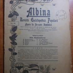 "revista albina 27 august 1900-art.  ""bistrita"" de vasile alecsandri"