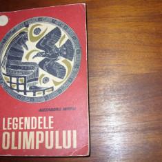 LEGENDELE OLIMPULUI ( editia 1966, foarte rara, integrala, cu ilustratii ) * - Carte mitologie