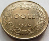 Moneda ISTORICA 100 Lei - ROMANIA / REGAT, anul 1944  *cod 3785