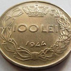 Moned 100 Lei - ROMANIA / REGAT, anul 1944 *cod 3785 - Moneda Romania