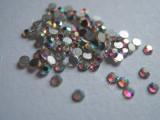 Set 100 cristale cu reflexii multicolore pt decorare unghii tip Swarovski 1,9mm