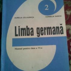 Calugarita Danciu - Limba germana - manual pentru clasa 6-a - Curs Limba Germana didactica si pedagogica